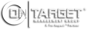 on-target management group logo